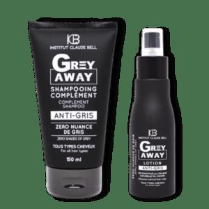 Gray Away komplet šampon in losjon proti sivenju