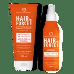 Hair Force One Duo komplet šampona in losjona proti izpadanj las.