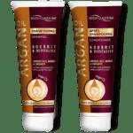Šampon in balzam Argan za sivilnate in sijoče lase