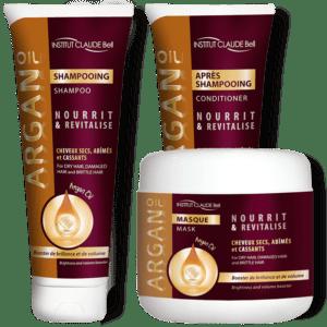 Darilni paket – kolekcija Argan za svilnato lepe lase